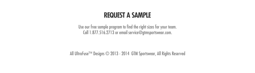 Request a Sample - Call 1.877.516.2714 to speak with a representative.
